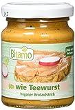 Bitamo Brotaufstrich wie Teewurst, rein vegan, 100 g, 12er Pack...