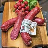 Hirschsalami | mild geräucherte Edelsalami aus Hirschfleisch |...