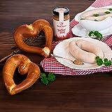 WURSTBARON® Weißwurst Set bestehend aus Breze, Weißwurst &...