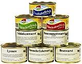 8er Set Wurstkonserven/Fleischkonserven, rd. 2,9 kg, z.B....